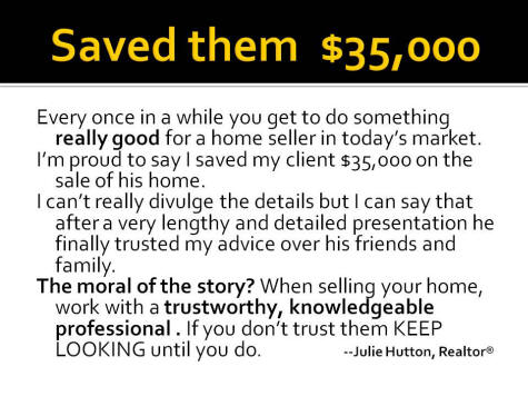 Trust Saved them $35,000